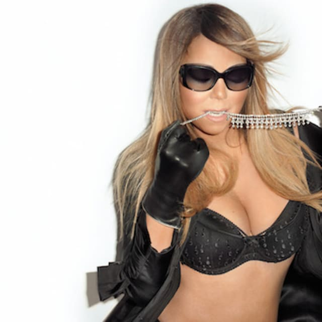 Mariah Carey Rocks Lingerie and Pearls at Terry Richardson ...