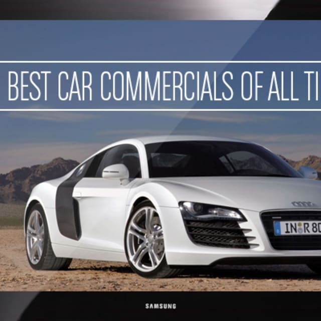 The 50 Best Car Commercials Of All Time
