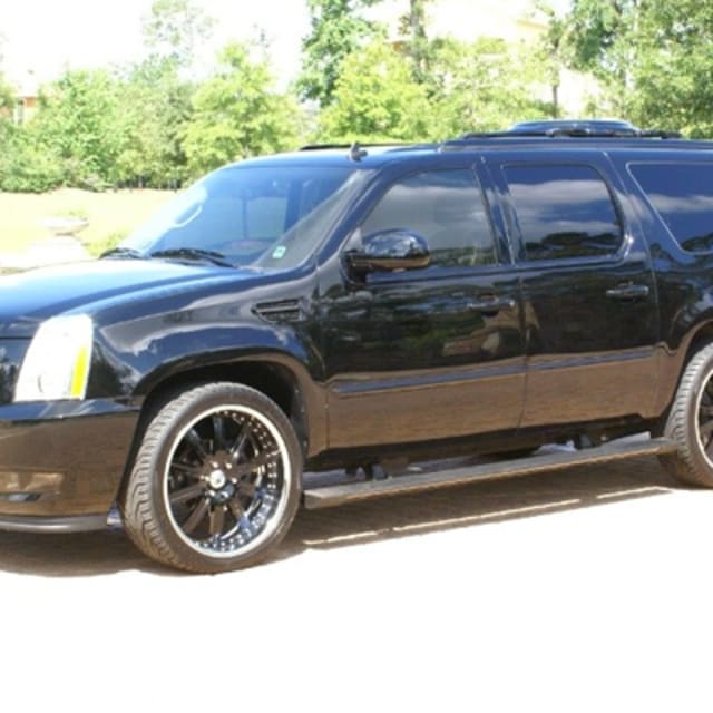2012 Cadillac Escalade: Mark Wahlberg's West Coast Customs Cadillac Escalade