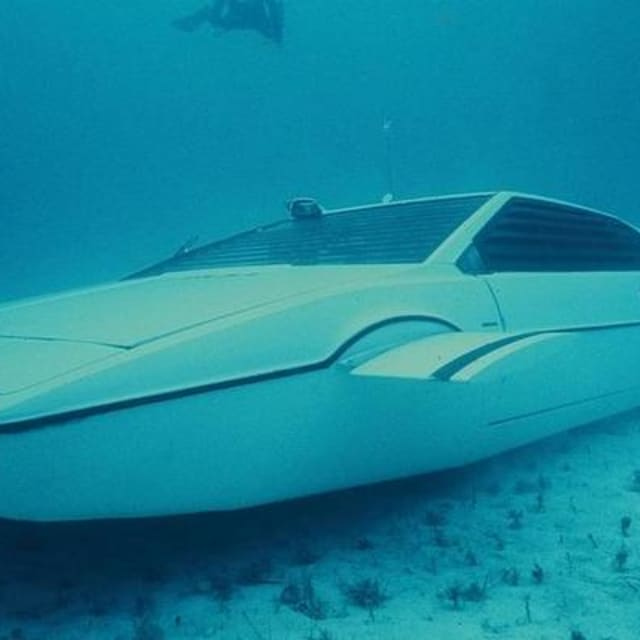 The Man Auctioning Off James Bond's Infamous Submarine Car