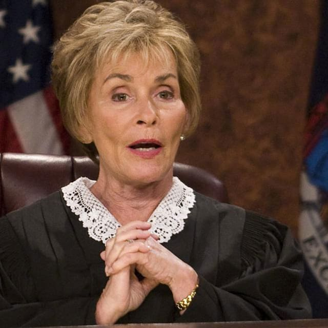 Judge Judy Says Youll Never Get to See Her Nude Pics - E