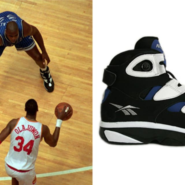 Today in Performance Sneaker History: Shaq Leads Orlando Magic to the '95 Finals in the Reebok ...