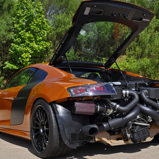 Turbo Kit Audi R8 V10: Underground Racing Builds 1,200-Horsepower Audi R8 GT Twin