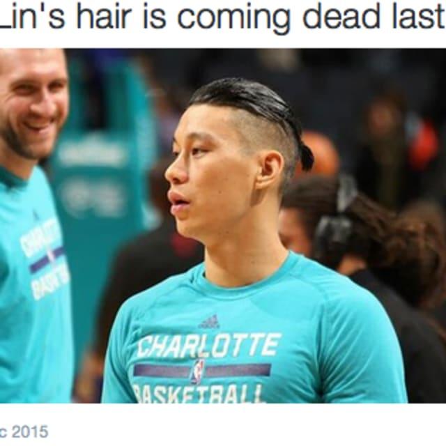 Jeremy Lins Tragic Hairstyle Evolves Into Bizarre Man Bun