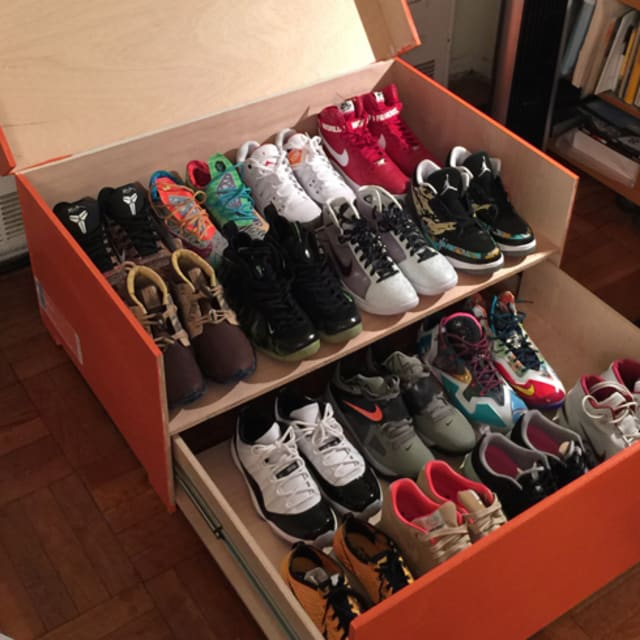 Store Your Sneakers In This Gigantic Nike Shoe Box