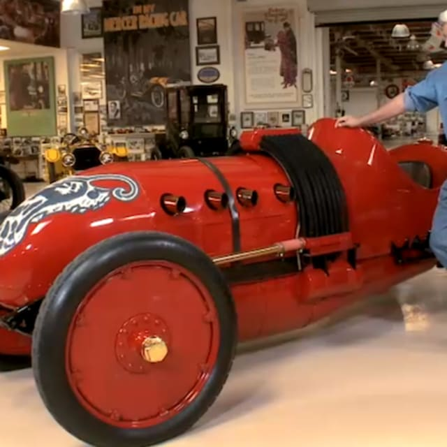 The Sloan Museum Loans Jay Leno A 1910 Buick Bug Racecar