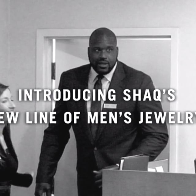 Shaquille O'Neal Has A Jewelry Collection With Zales