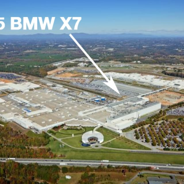 Bmw X7 Suv: BMW Confirms The X7 SUV To Be Built In The Carolinas