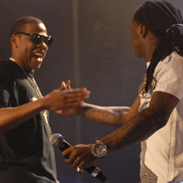 jay z and lil wayne relationship history