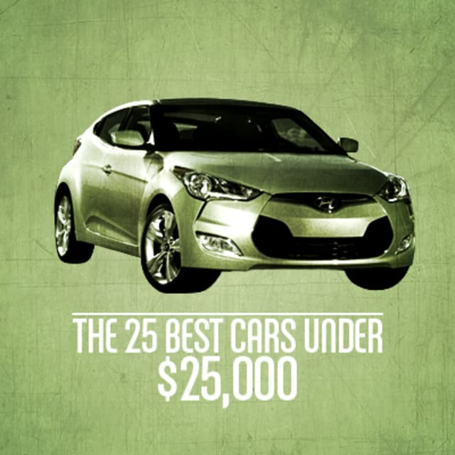 The 25 Best Cars Under $25,000