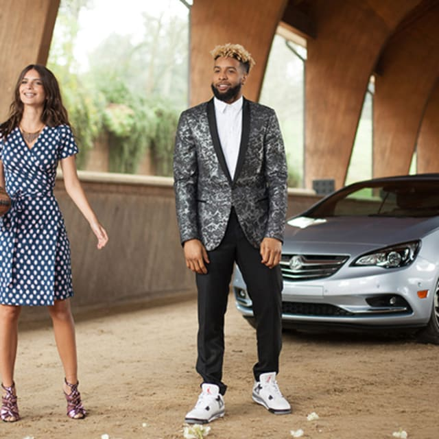 """Buick Introduces 1st Convertible In Us In 25 Years: Odell Beckham Jr. Will Wear """"White/Cement"""" Air Jordan IVs"""