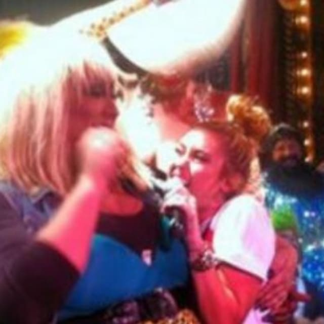 """Miley Cyrus Sings """"Happy Birthday"""" To A Drag Queen"""