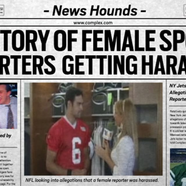 Lisa Olson - News Hounds A History Of Female Sports Reporters Getting Harassed  Complex-9728