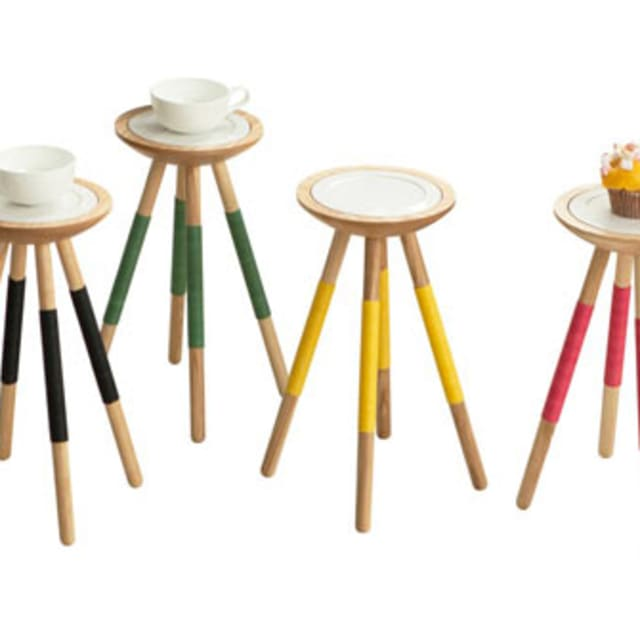 The tea for one table by designk complex for Complex table design