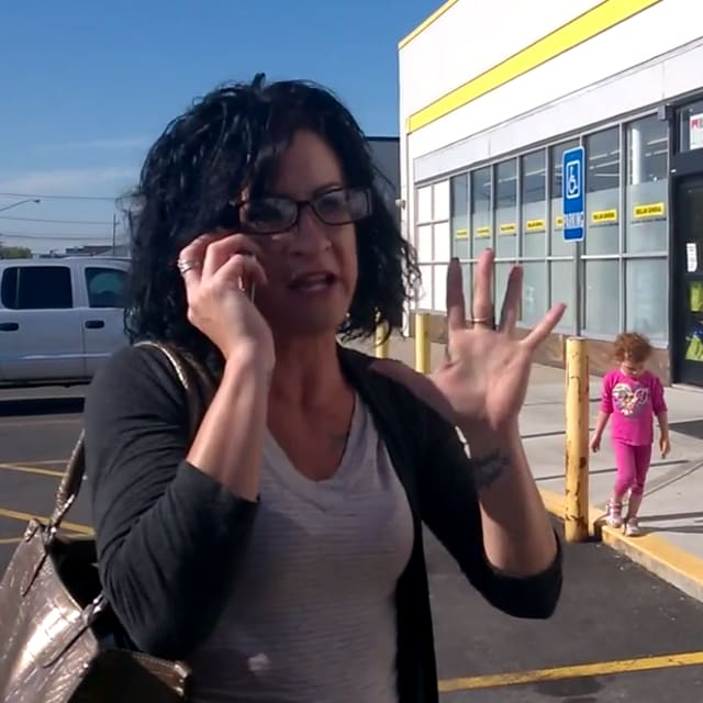 Racist Woman Repeatedly Calls Man an N-Word in Front of