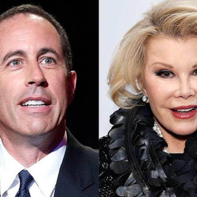 Joan Rivers Comedians In Cars Getting Coffee