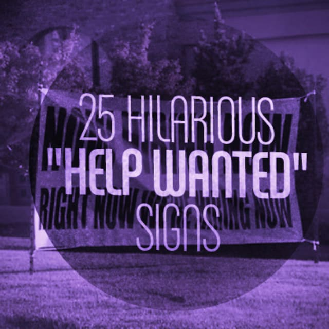"Economy Auto Center >> 25 Hilarious ""Help Wanted"" Signs 