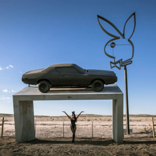 Playboy May Have To Remove Sign In Marfa Tx Complex