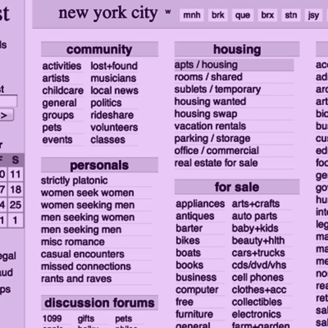 Craigslist Org In New York: The 15 Worst NYC Apartment Ads On Craigslist (Right