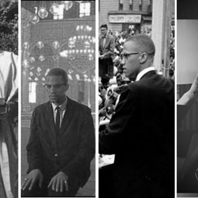 What was malcolm x's political leadership style like?
