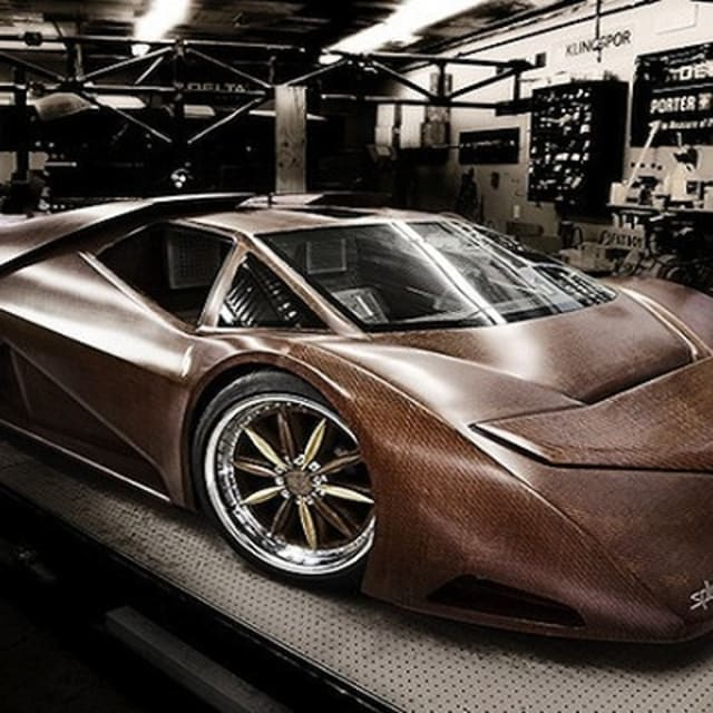 The World's First Wooden Supercar