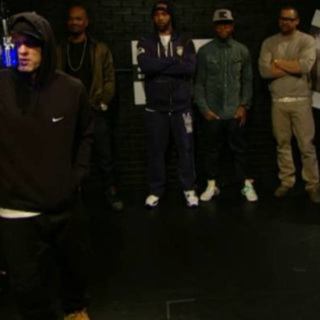 "Eminem Freestyles With Slaughterhouse On BET's ""The"