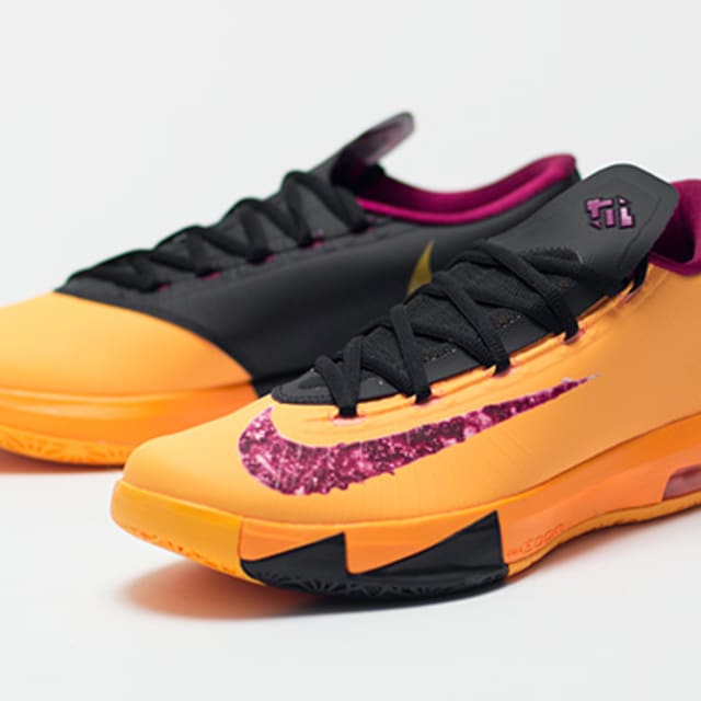 """Nike KD VI """"Peanut Butter & Jelly"""" Detailed Images"""