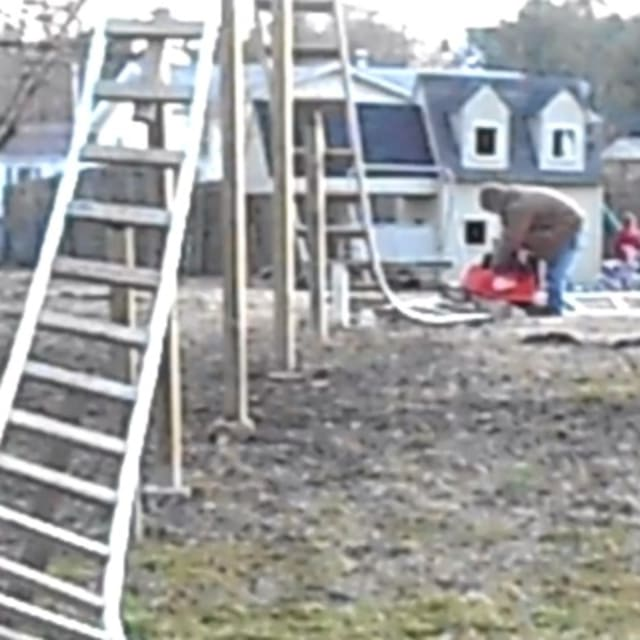 Man Builds 12' PVC Pipe Roller-Coaster for Kids in ...