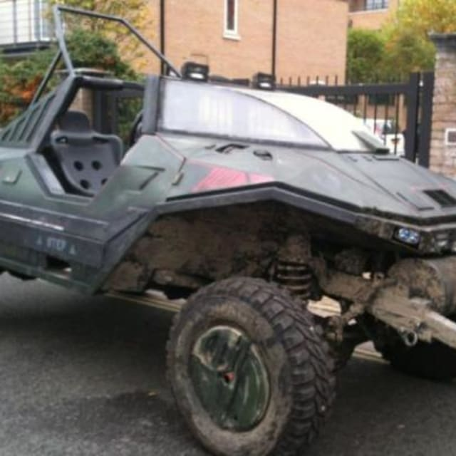 This Halo Warthog Replica Converted From A 1983 Land Rover