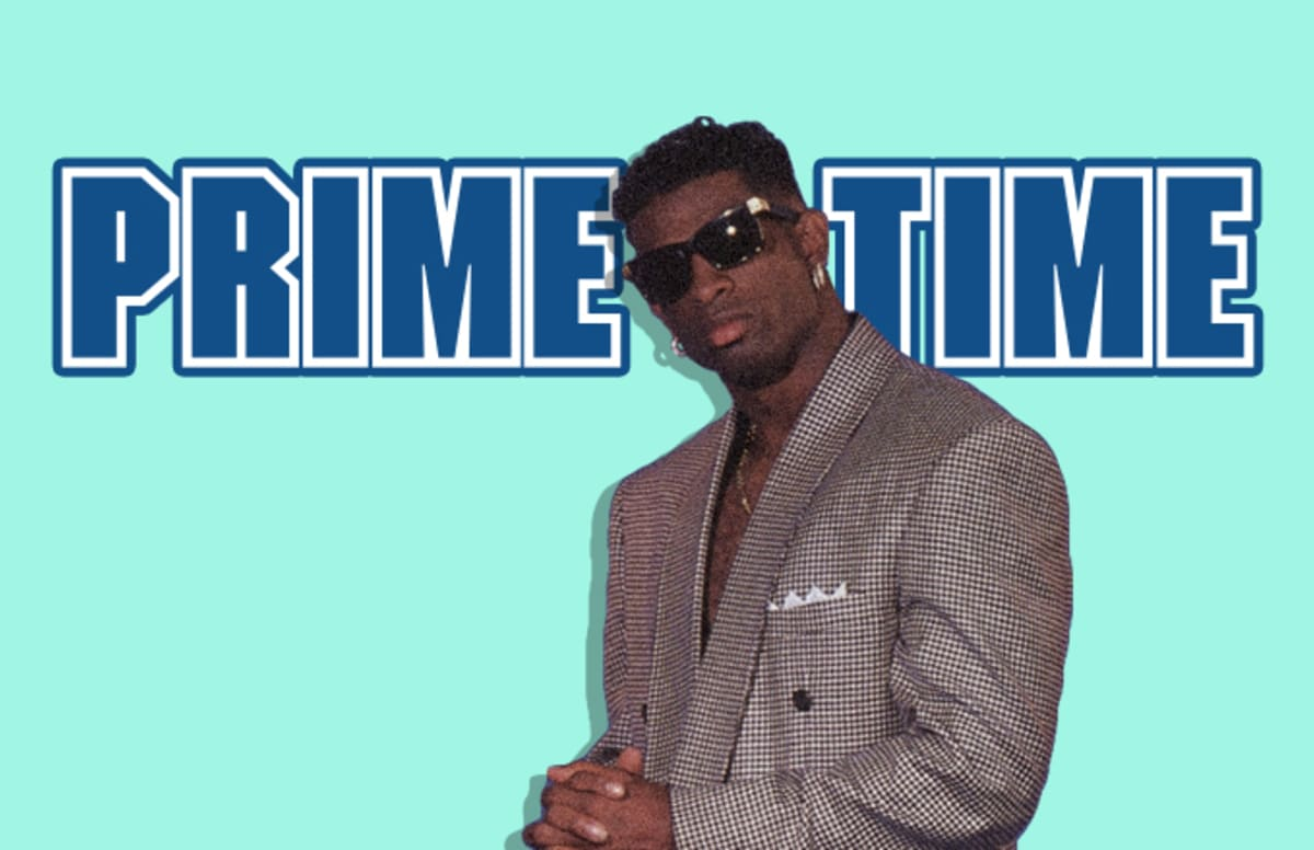 Deion Prime Time Sanders Best Football Player
