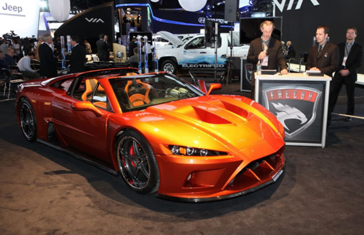 Detroit Auto Show 2017 Tickets >> 10 Things To Know About the Hand-Built Falcon F7 American