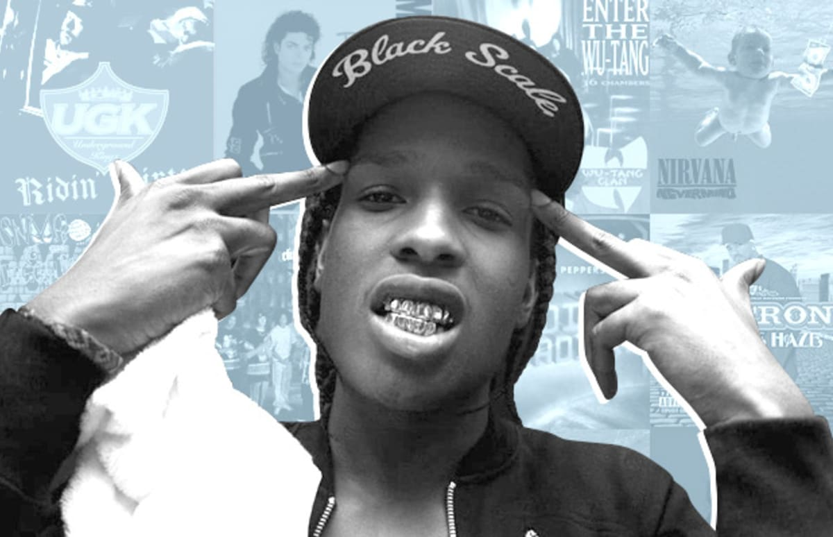 A ap rocky 39 s 25 favorite albums complex for Asap ferg face tattoo