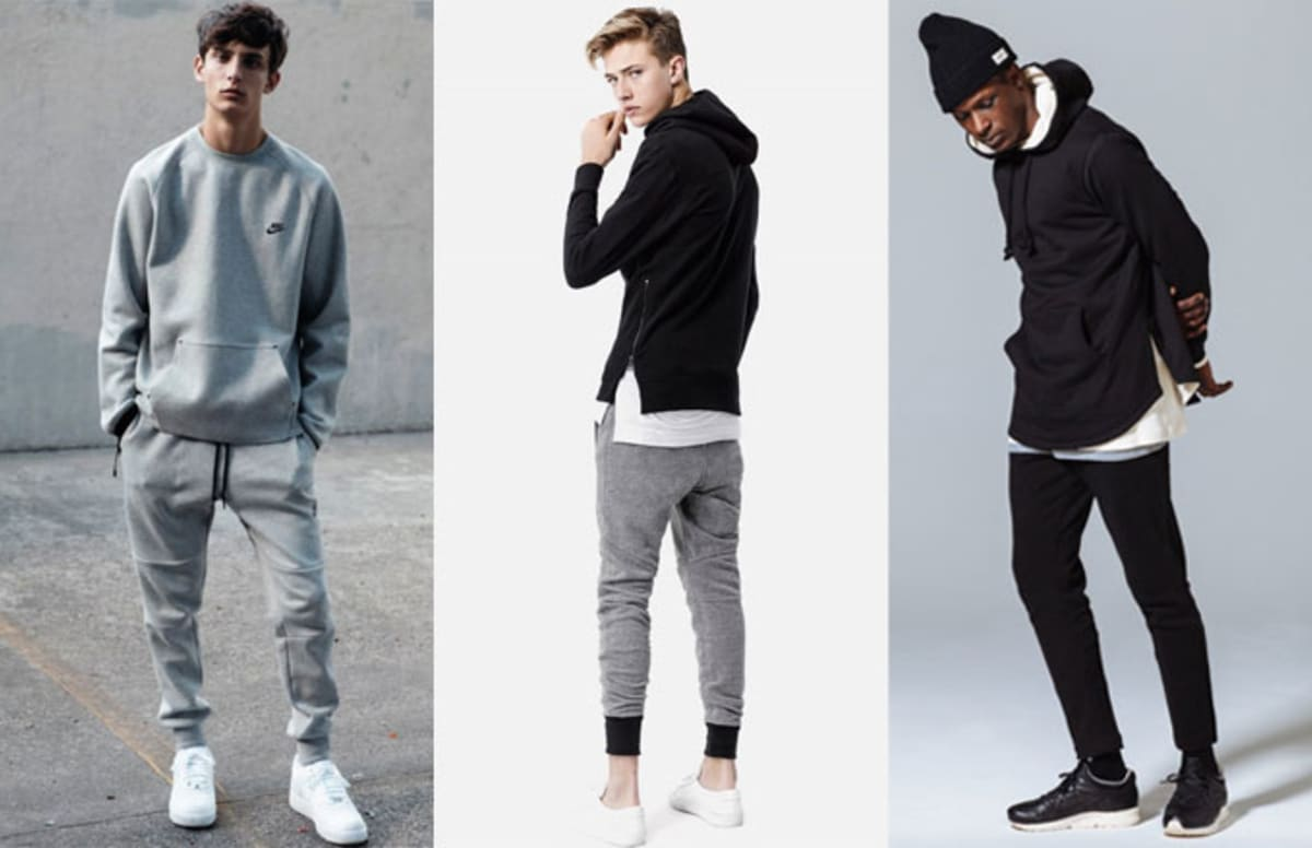 Cozy Is The New Cool Quot Athleisure Quot Trend In Menswear Is