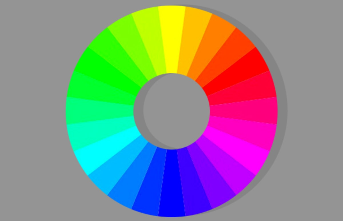 Yellow Complementary Color The Color Wheel Is The Best Representation Of All The