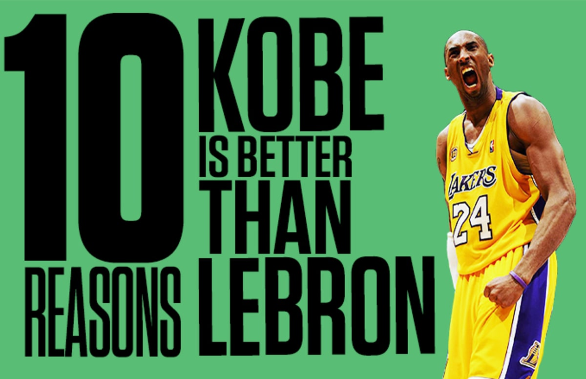 Why i select kobe bryant as
