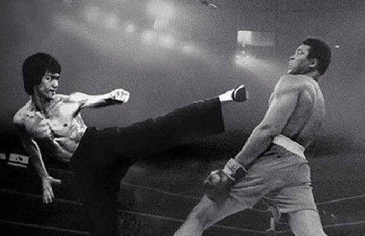 """Bruce Lee Once Said He Thought Muhammad Ali Would """"Kill ..."""