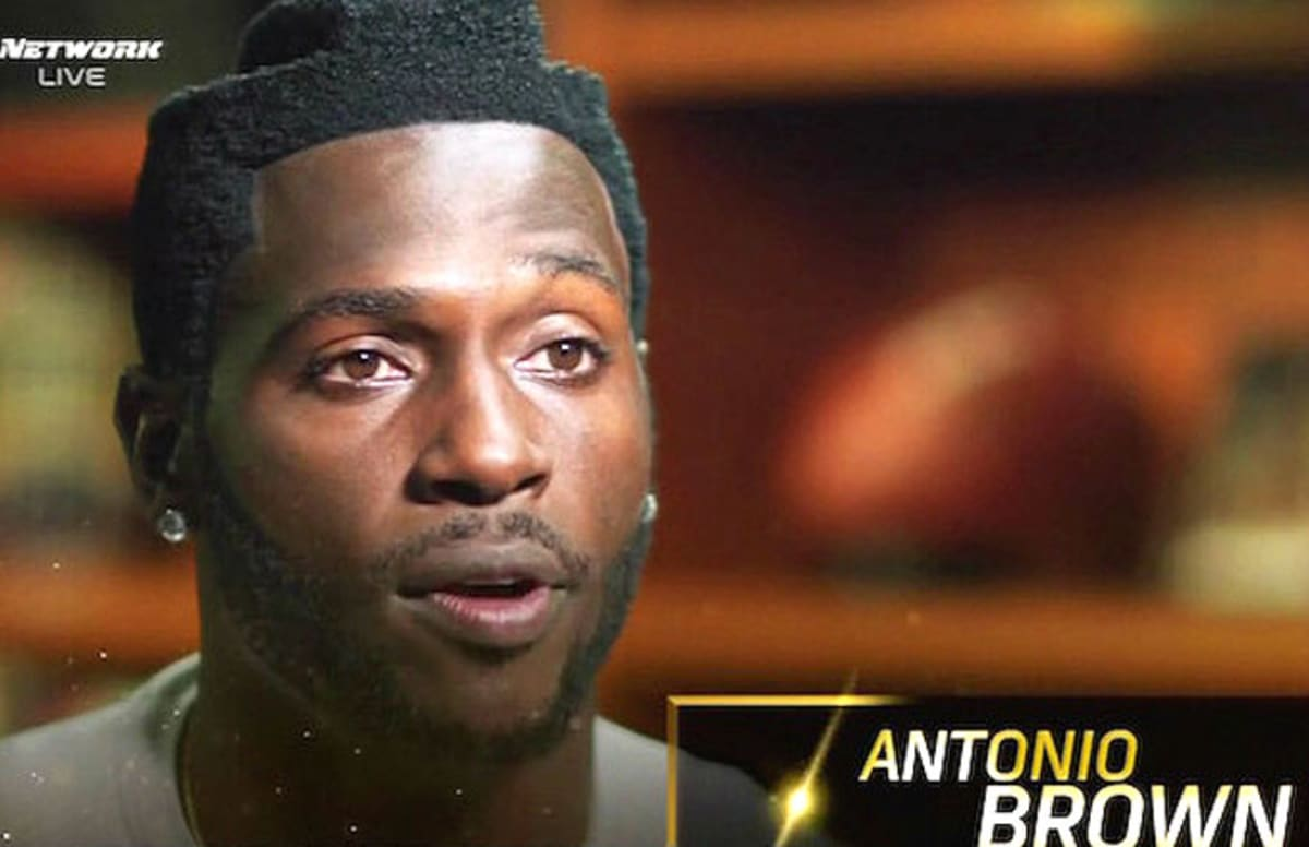 Twitter Makes Fun Of Antonio Browns Bizarre Haircut Complex