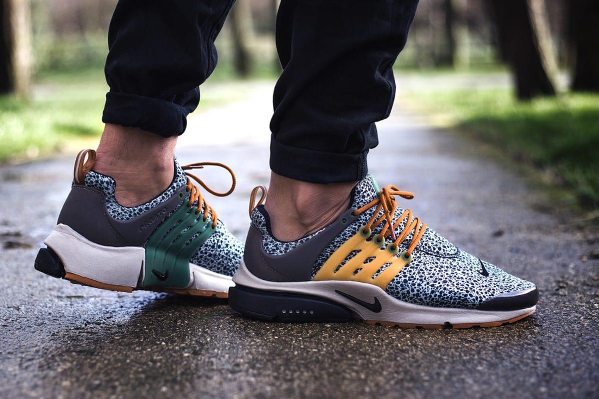 "Here's an On-Feet Look at the Nike Air Presto ""Safari"""