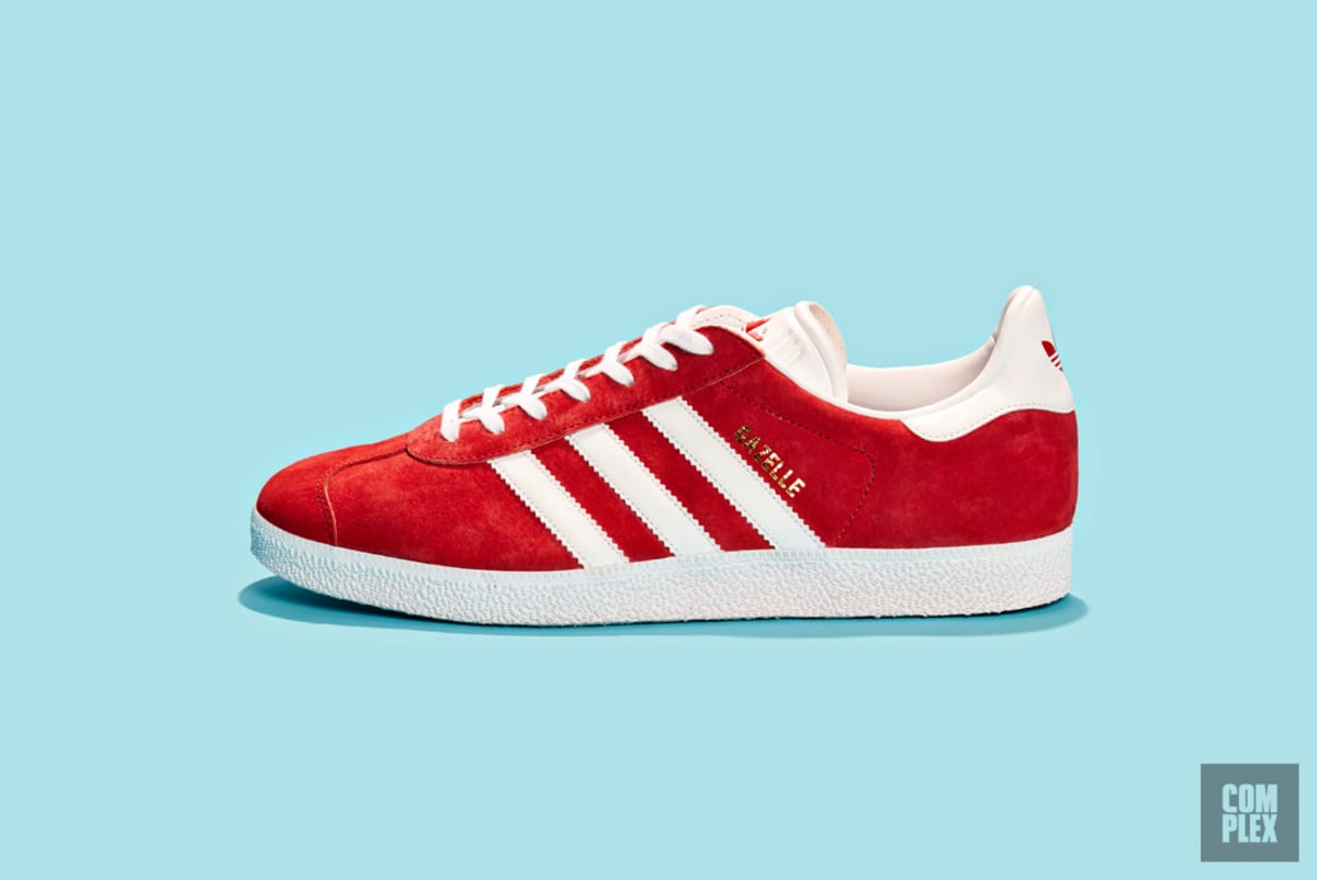 finest selection d0d4e 5419e The History of the Adidas Gazelle