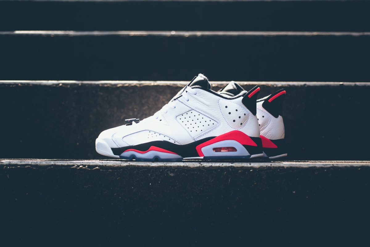 air jordan vi low retro white infrared 23 release date. Black Bedroom Furniture Sets. Home Design Ideas