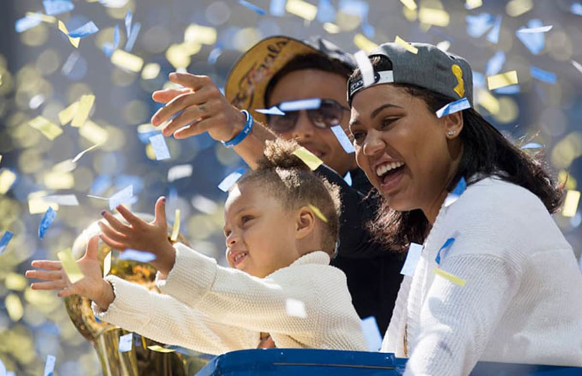 Cavaliers Fan Fired for Sending Awful Tweet About Riley Curry to Steph Curry's Sister