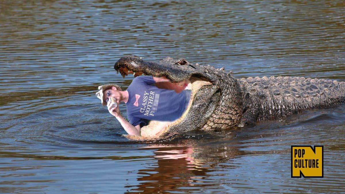 White Alligator Golf Shoes