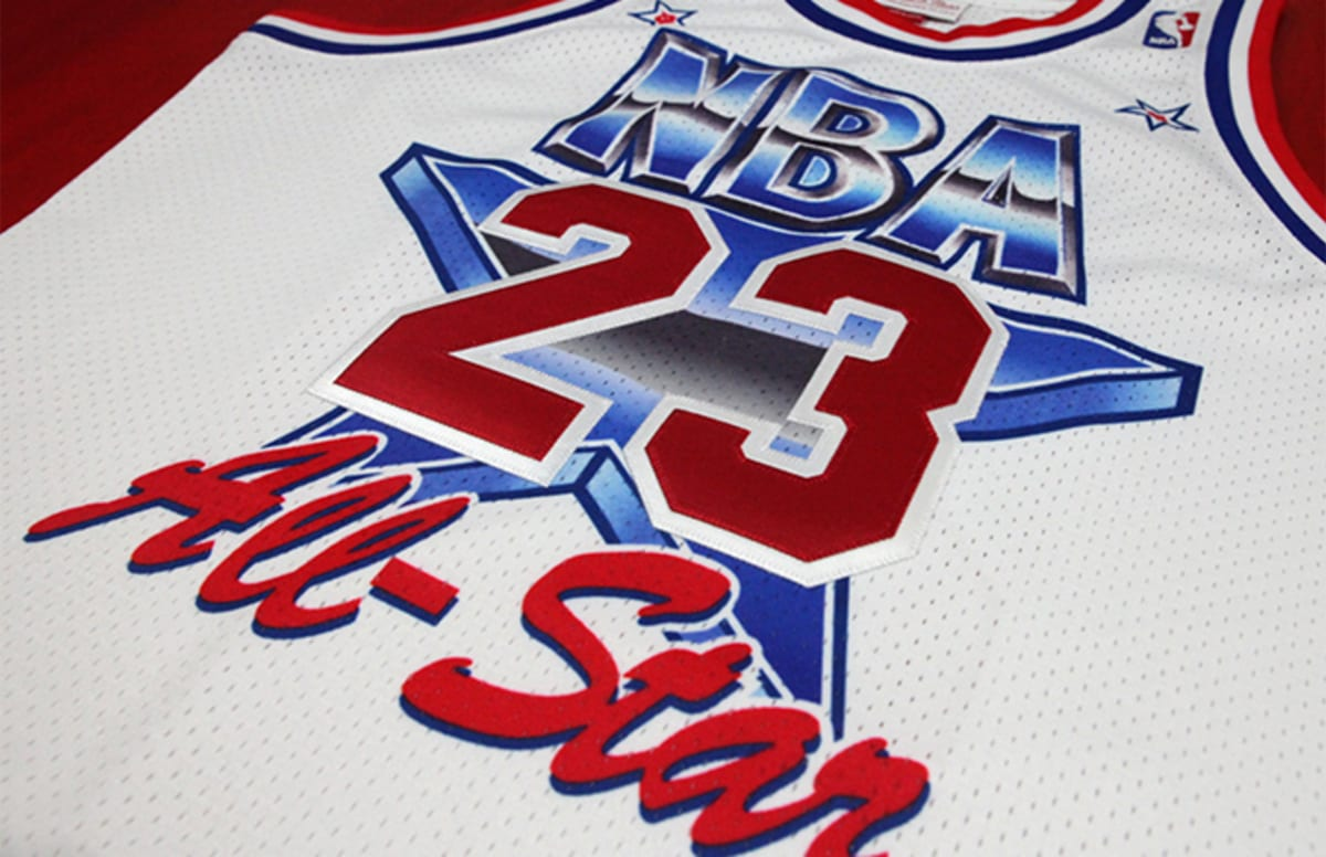 9c380524d Mitchell   Ness are Re-releasing Michael Jordan s 1991 All-Star Jersey This  Week