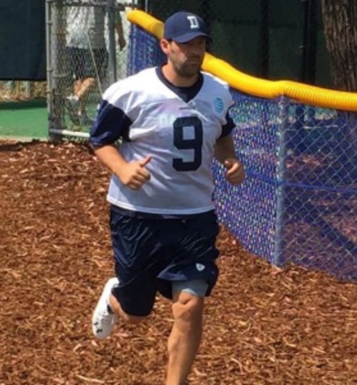 The internet has no chill after seeing a fat tony romo arrive at the internet has no chill after seeing a fat tony romo arrive at cowboys training camp complex publicscrutiny Images