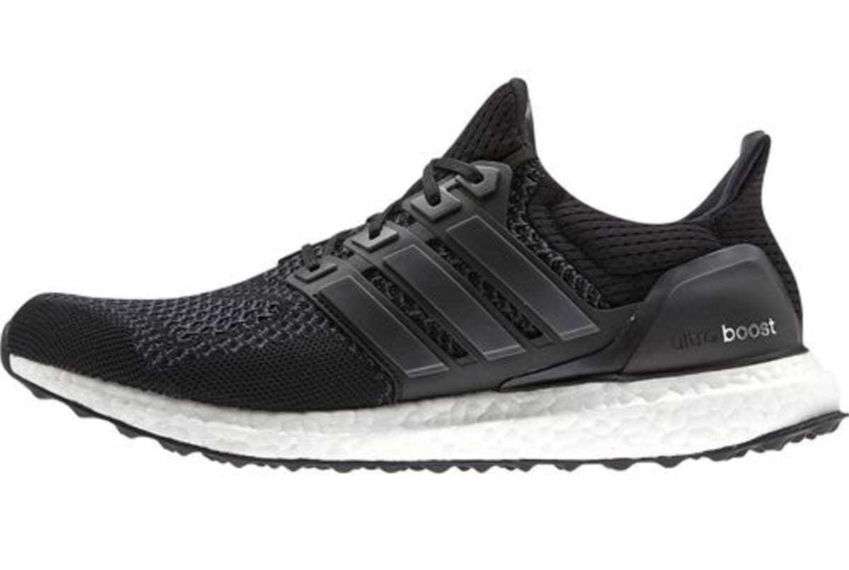 the adidas ultra boost is also getting a black on black. Black Bedroom Furniture Sets. Home Design Ideas