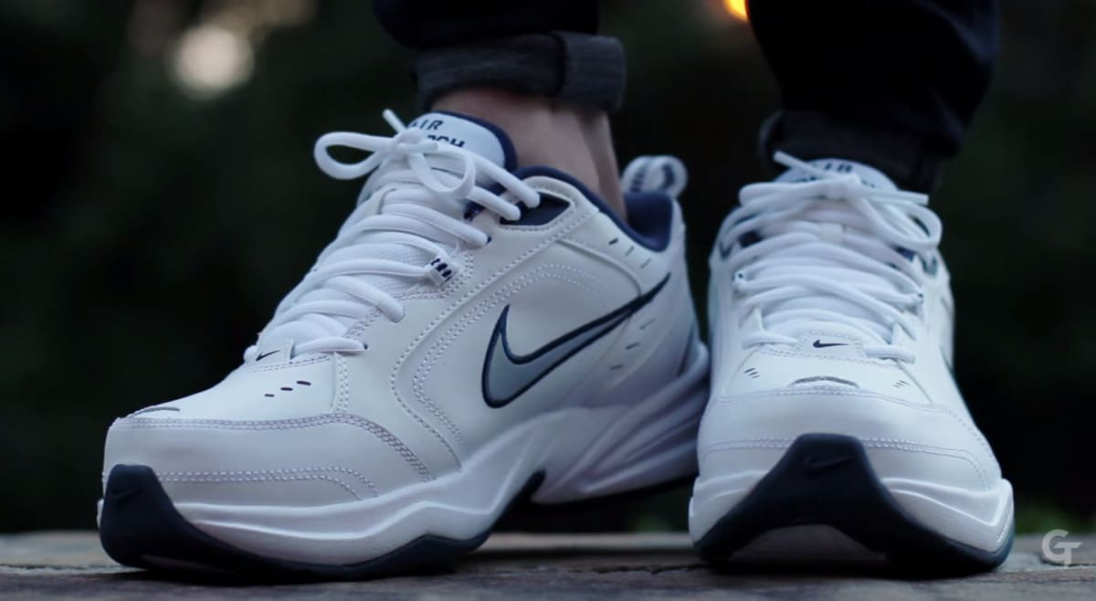 Best Buy Auto Center >> Nike Air Monarch IV Video Review | Complex
