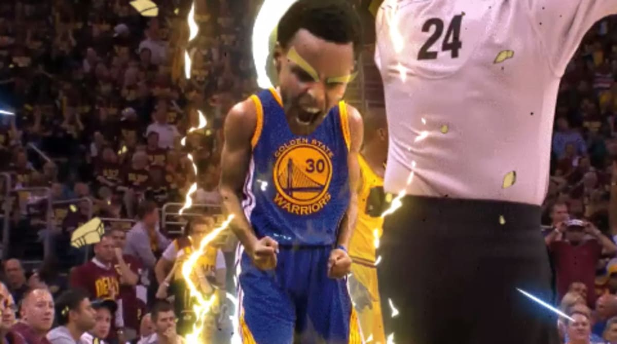 Relive the 2015 NBA Finals With These Amazing Dragonball Z GIFs | Complex