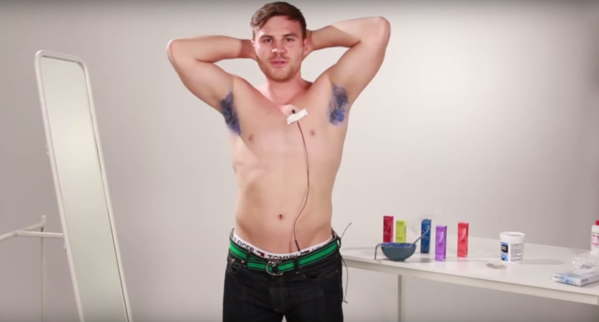 Video: Guys Dye Their Armpit Hair for the First Time | Complex