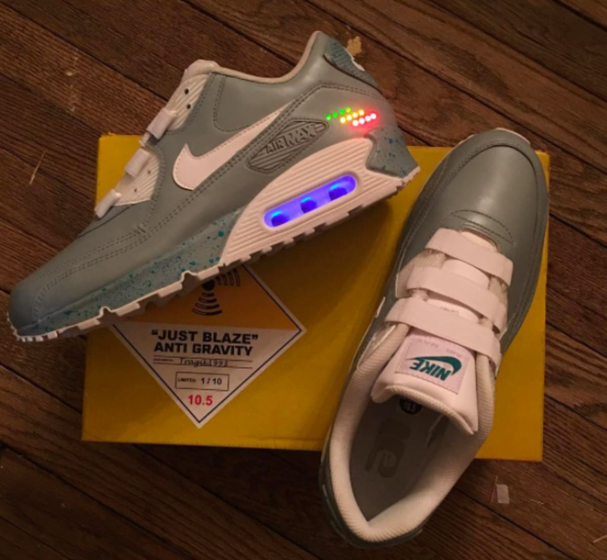 finest selection 17b99 98e74 air max back to the future