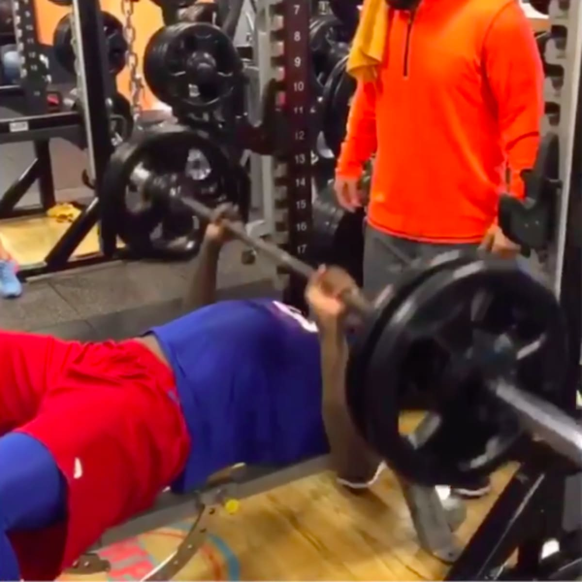 Jason Pierre-Paul Shows Off His Improved Grip In Instagram